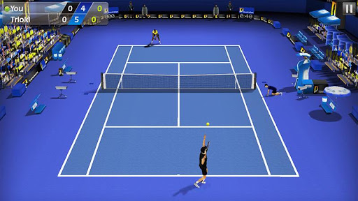 3D Tennis screenshot 1