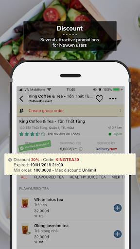 Now.vn - Food Delivery  screenshots 2