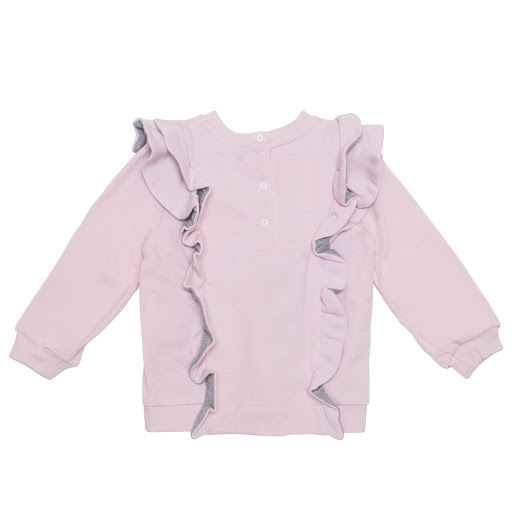Thumbnail images of Fendi Baby Queen Ruffle Sweatshirt