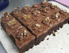 """3 Chocolate Brownies For 9"""" x 13"""""""