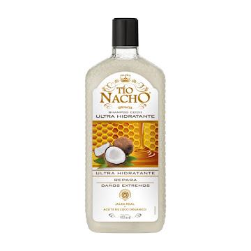 Shampoo Capilar Tío Nacho Ultrahidratante Coco 415 ML