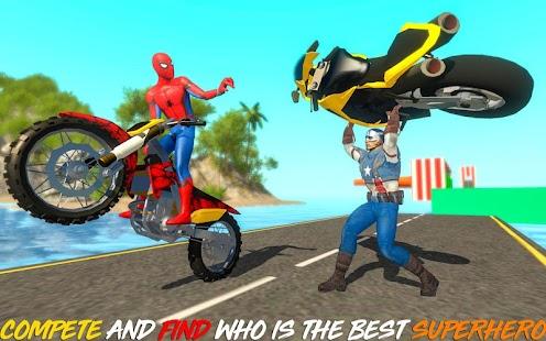 Superheroes bike evolution racing - náhled