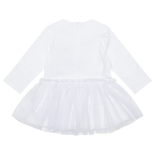 Thumbnail images of Moschino Baby Girl Tulle Dress