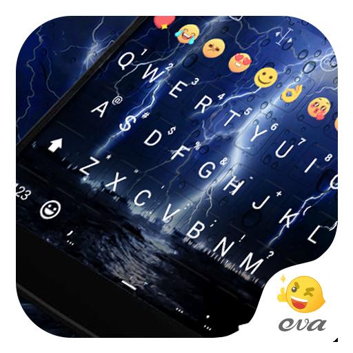 Lighting Storm Emoji Keyboard 遊戲 App LOGO-硬是要APP