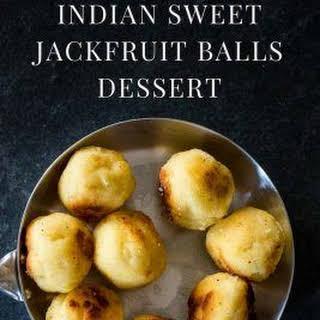 Indian Sweet Jackfruit Balls Dessert Recipe [Paleo, AIP].