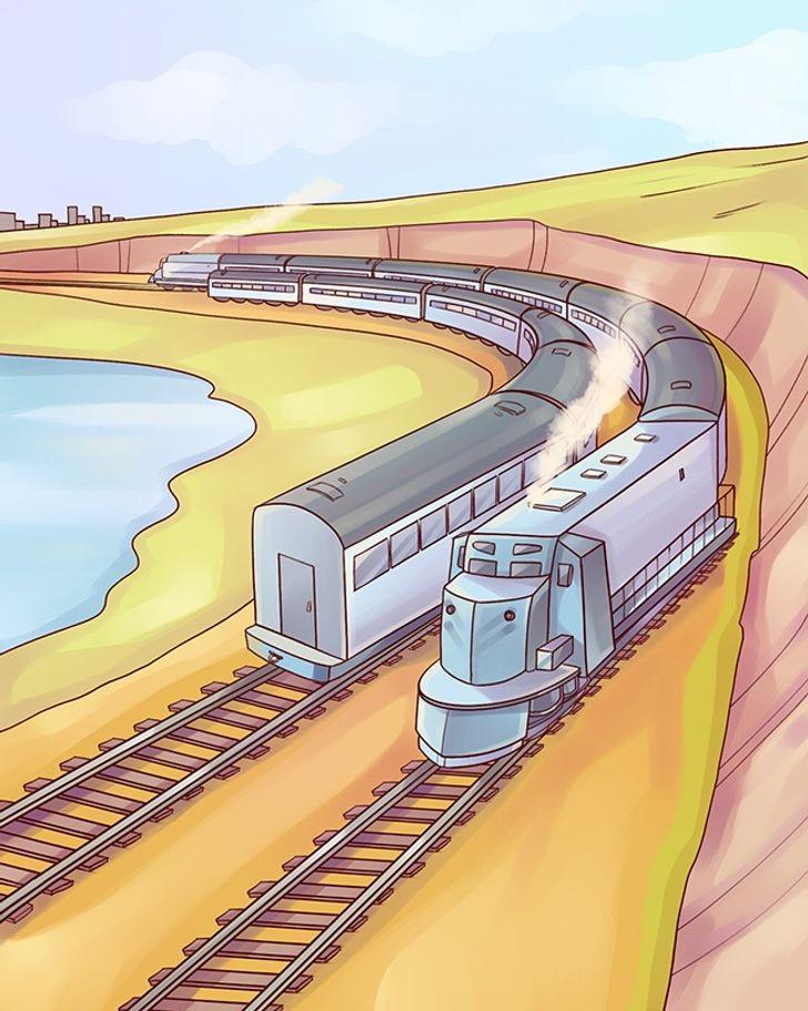 Brightside's train picture puzzle