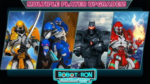 Grand Robot Ring Battle: Robot Fighting Games apkmr screenshots 2