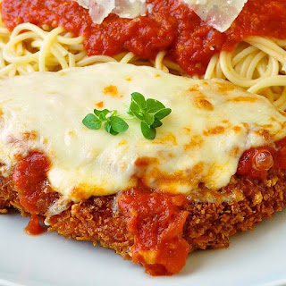 Quick and Easy 30 Minute Chicken Parmesan.