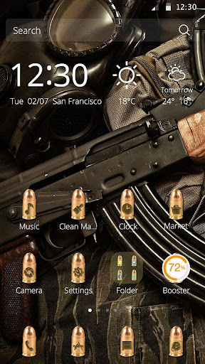 槍支主題--絕對武力