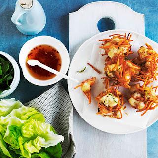 Vietnamese Prawn Cakes.