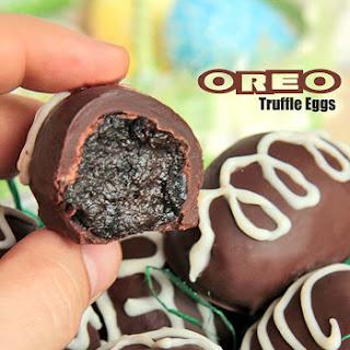 Easy Oreo Truffle Eggs.