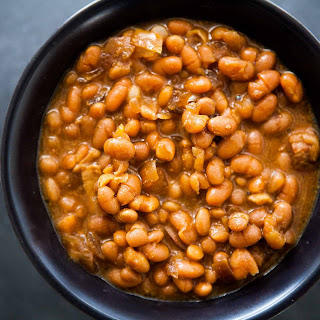 Slow Cooked Boston Baked Beans Recipe