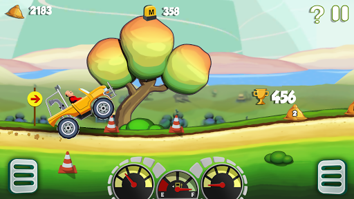 Motu Patlu King of Hill Racing  gameplay | by HackJr.Pw 4