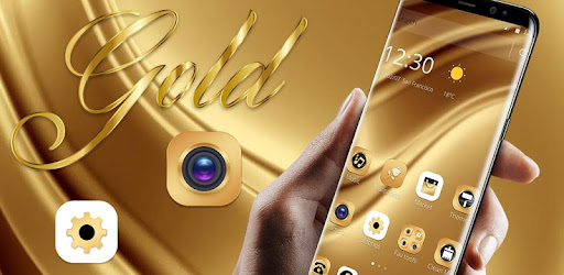 Gold Luxury Extravagant Business Theme for PC