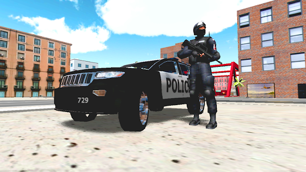Police Car Driver 3D APK screenshot thumbnail 1