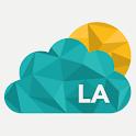 Los Angeles weather forecast, icon