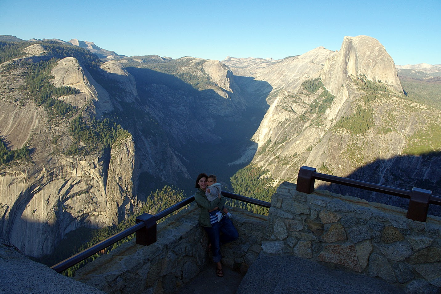 Valle de Yosemite, Glaciar Point