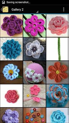 Crochet Flower Patterns - screenshot