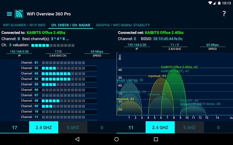 WiFi Overview 360 Pro Screenshot 12