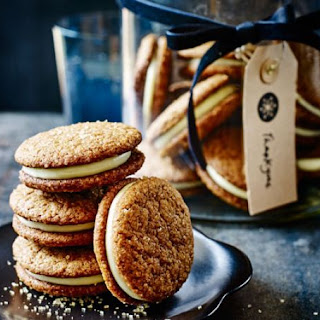 Ginger Cookie Sandwiches with Lemon Mascarpone Recipe