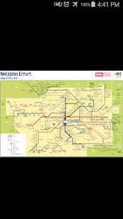 Erfurt Tram & Bus Map- screenshot thumbnail