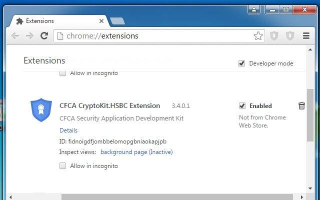 CFCA CryptoKit.HSBC Extension