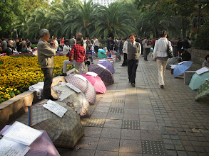 Photo: The 'meat-market'