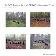 Photo: Tweede dag Zwemkolk en ´s middags lopen we met de Clan door de bossen van Goor