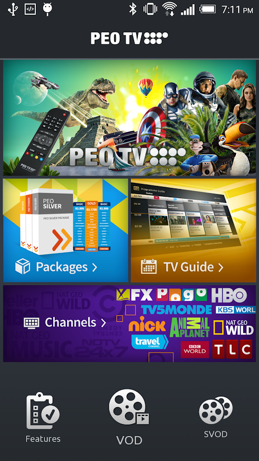 PEO TV- screenshot