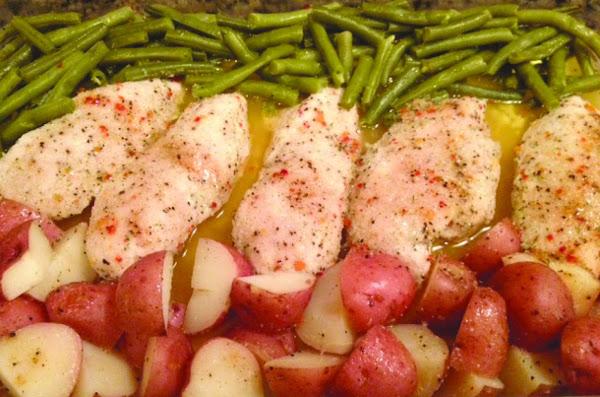 One Dish Chicken Recipe