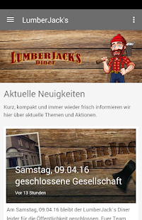 Lumberjacks Diner - Selm- screenshot thumbnail