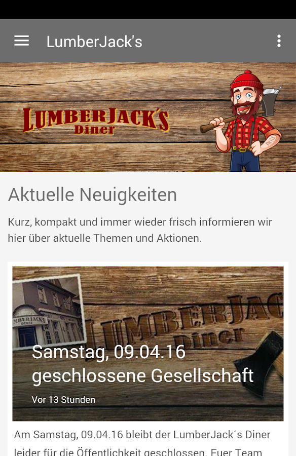 Lumberjacks Diner - Selm- screenshot