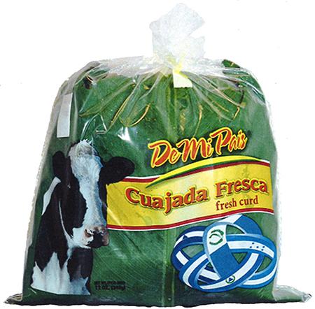 Old label, De Mi Pais Cuajada Fresca, 12 oz.