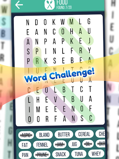 Word Search 2019: Word searching game for free screenshot 9