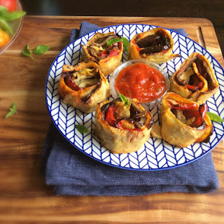 Veggies-Only Antipasti Pinwheels (Grain, Dairy, Gluten, Nut and Egg-Free) Recipe