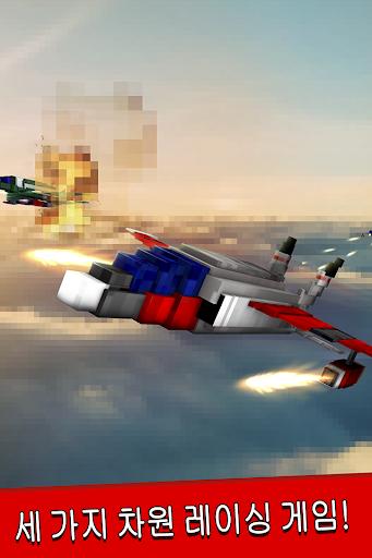 세계 대전 비행기 공중전 비행 시뮬레이터 게임 3차원