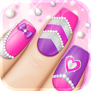 Fashion nail art designs game android apps on google play fashion nail art designs game prinsesfo Images