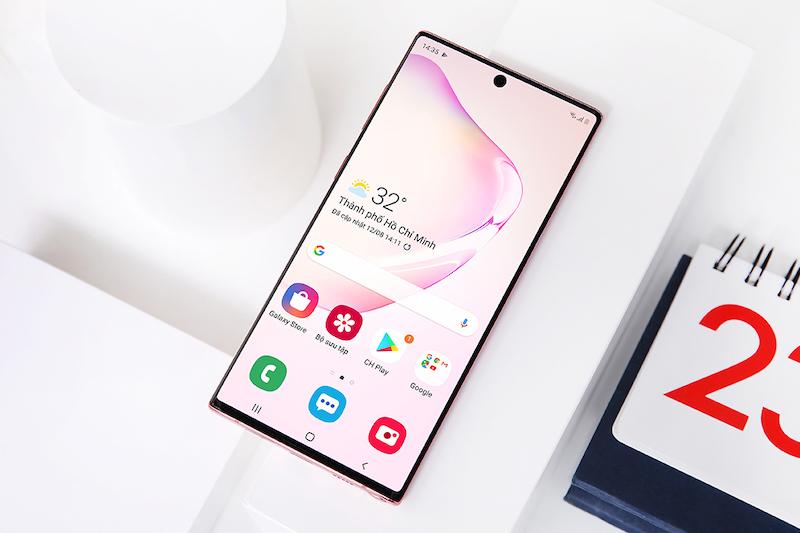 Điện thoại Samsung Galaxy Note 10 | Trải nghiệm màu sắc trên màn hình