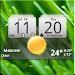 MIUI Digital Weather Clock APK