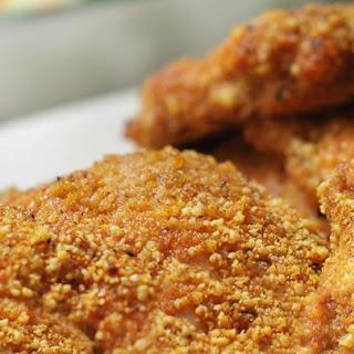 Gluten-Free Shake and Bake Almond Chicken.