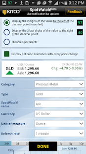 App Gold Live! APK for Windows Phone
