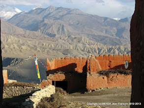 Photo: View from Tsarang Gompa
