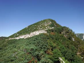 2711mピークへ登る
