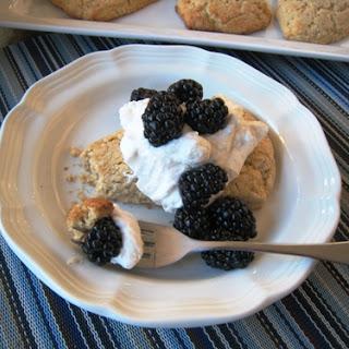 Whole Grain Shortcakes with Berries & Cream