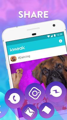 Kweak.ly: Your Personal GIF TV - screenshot