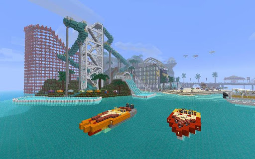 WaterPark maps for Minecraft 2.3.1 screenshots 2