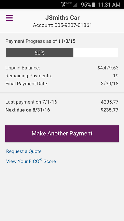 Ally Auto Mobile Pay- screenshot