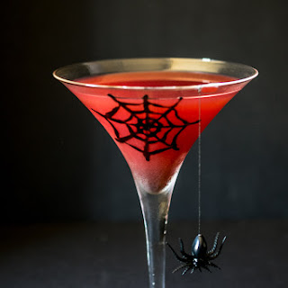 Halloween Blood Orange Martini.