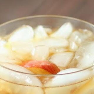Spiked Peach Iced Tea.