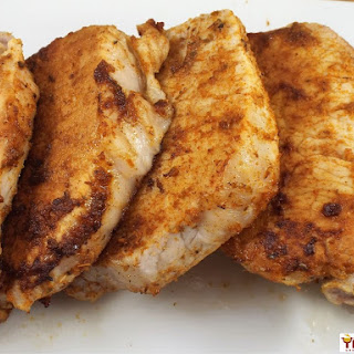Cajun Spiced Boneless Pork Chops Recipe
